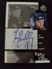 1x 99-00 SP Authentic Tim Connolly Sign Of The Times AUTO Hockey