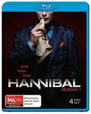 Hannibal : Season 1 (Blu-ray, 2013, 4-Disc Set)