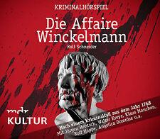 Hörspiel CD Die Affaire Winckelmann ein Kriminalhörspiel
