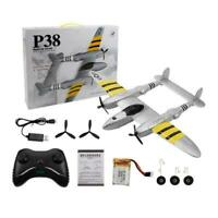 1pc FX-816 P38 RC Airplane 2.4GHz 2CH RC Aircraft Fixed Toy Flight S8M3 Out S3I1
