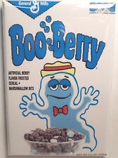 "Boo Berry Vintage Cereal Box 2""x3"" Fridge or Locker MAGNET Version 2"