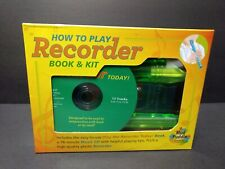 How To Play Recorder Book & Kit: Includes Recorder, Cd & Book - Brand New