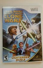 Star Wars The Clone Wars Lightsaber Duels  Nintendo Wii Game
