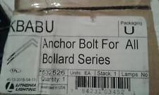 LITHONIA LIGHTING KBAB U ANCHOR BOLT FOR ALL BOLLARD SERIES  532526