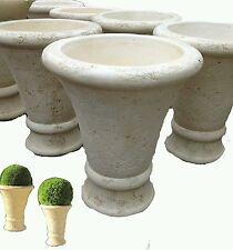 vaso vasi in cemento cono da giardino esterno moderni esterno rustico alti