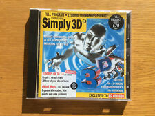 Vintage PC Advisor Software CD-ROM, Simply 3D, Floor Plan 3D, eMind Maps