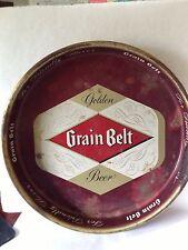 Vintage Grain Belt Beer Tray - Golden Grain Belt Beer