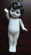 "Vintage 1920s Japan Bisque Side Looking Girl Doll 6 1/2"" Tall"