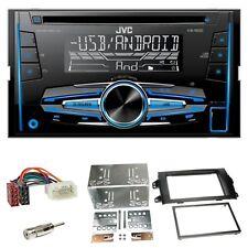 JVC kw-r520 AUTORADIO CD USB mp3 aux kit installazione SUZUKI SX 4 FIAT SEDICI