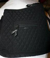 Vera Bradley Hipster Crossbody Messenger Shoulder Bag Classic Black