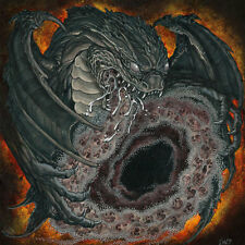 "Graveir / Mar Mortuum – Split 7"" Vinyl Australian Black Metal Occult NEW"