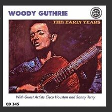 WOODY GUTHRIE - The Early Years (with Cisco Houston & Sonny Terry) CD [B5]