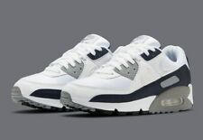 Nike Air Max 90 White Particle Grey Running Shoes CT4352-100 Men's NEW