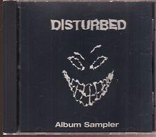 disturbed album sampler cd limited edition