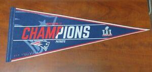 NFL New England Patriots Super Bowl LI Champions Collectors Pennant