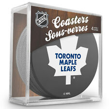 Official National Hockey League Licensed Toronto Maple Leafs Coaster Set