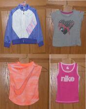 Girls Sports Wear Size 4 5 6 Puma Nike Jacket T-Shirt Tank Dri-Fit Mixed Lot