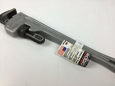 Ridgid 31100 Straight Pipe Aluminum Wrench 2 12 Jaw Capacity 18 I Beam 818