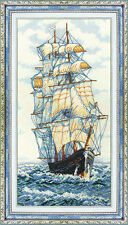 """Counted Cross Stitch Kit MAKE YOUR OWN HANDS - """"Believe in Luck"""""""