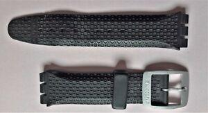 Bracelet montre SWATCH caoutchouc Noir
