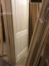 "96"" X 36"" Unfinished Maple 2 Panel Door Slab"