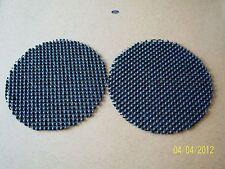 2 BLACK GRIPPER PADS NON SLIP DISCS KITCHEN CARAVAN GARAGE CAR MOBILE JAR BOTTLE