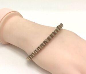 "Edblad Rose Gold Plated Hinged Fiona Bangle Bracelet, 7""/18cm RRP £40"
