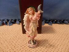 """Boyds Bears Angel 1E - """"Luna.The Light of the Silvery Moon In Pink Dress"""