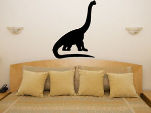 Brontosaurus Dinosaur Nursery Children's Bedroom Decal Wall Art Sticker Picture