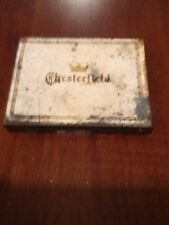 OLD CHESTERFIELD CIGARETTE TIN