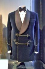 Mens Blue Velvet New Smoking Blazer Luxury Evening Party Wear Dinner Jacket Coat