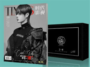 Wang Yibo Magazine Photo Album Gift Box Signature Poster Postcard Photo Collect