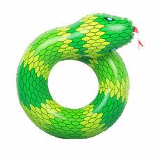 """36"""" Anillo De Serpiente gigante hinchable Natación Agua Flotar balsa Playa Piscina diversión"""