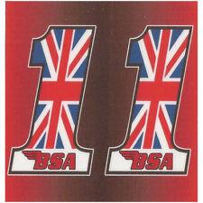 BSA 68mm x 65mm BIC Lighter Sticker