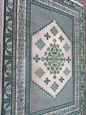 A SENSATIONAL OLD HANDMADE MOROCCAN RUG (295 x 200 cm)