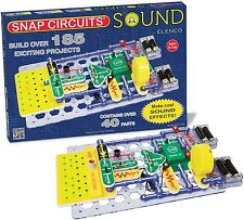 Elenco Snap Circuits SCS-185 Sound Ages 8+