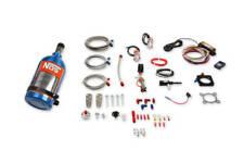 Nos Plate Wet Nitrous Kit 25 Blue Bottle Polaris Rzr Xp 1000 Xp Turbo Amp S 15 20