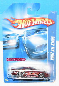 HOT WHEELS 2007 ALL STARS PONTIAC FIREBIRD RED