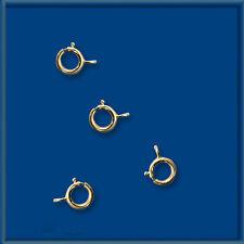 100 pcs 14K GOLD FILLED OPEN SPRING RING 5mm