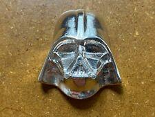 More details for mfs hand poured 4.3 oz darth vader helmet .999 silver bullion