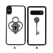 Personalised Unlock Love Valentines Gifts For Him Her Case For iPhone/Samsung