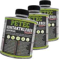 3x350 ml PETEC KONTAKTKLEBER UNIVERSAL KLEBE KLEBER KLEBSTOFF PINSELDOSE