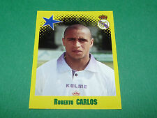 N°456 ROBERTO CARLOS REAL MADRID PANINI FOOT 98 FOOTBALL 1997-1998
