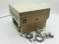 Apple LaserWriter Plus 1987 Vintage Laser Printer Model M0198 Macintosh w/Cables
