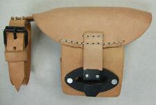 WW2 German K98 Mauser Rifle Rear Sight Hood Brown Leather