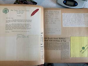 Girl Scout Brownies 1960s Scrapbook