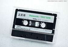 PANASONIC QZZC-SO87 MIX SIGNAL 10k-20dB 315,3k-10dB TEST TAPE Cassette Deck NOS