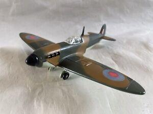 WORKING VINTAGE DIECAST DINKY TOYS RAF SUPERMARINE SPITFIRE WW2 FIGHTER PLANE