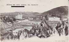 Spain Solares - Vista General del Balnearo old unused postcard
