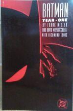 Batman Year One by Frank Miller 1988 TPB 1st Printing